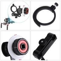 VODOOL Camera Follow Focus FO With Adjustable Gear Ring Belt For Canon Nikon Sony DSLR Cameras Studio Photography Accessorie