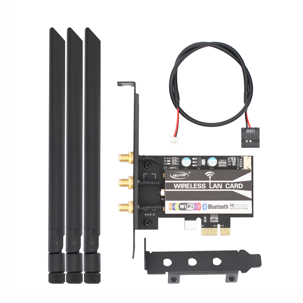 BCM943602CS 802.11AC WiFi + Bluetooth 4.0 pc de bureau carte WLAN pour Mac OS Broadcom carte réseau WIFI