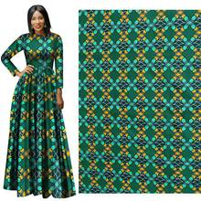 2019 The new all-terylene terrazzo African batik printing cloth manufacturer in is directly for apparel fabrics.