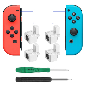 Image 2 - 1set Metal Lock Buckles Repair Tool Kit for Nintendo Switch NS Joy Con NX Joy Con Controller Replacement Parts with Screwdrivers