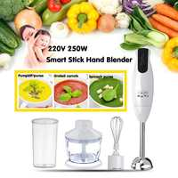 220V 450W Hand Blenders Portable Electric Stick Mixer Smart Speed Food Processor Set EU Plug Handheld Stick Blenders
