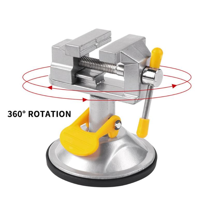 Fixed Frame Sucker Clamp Adjustable Table Bench Vise Roatatable Alloy Bench Screw for Repair Table Vise Bench Clamp GrinderFixed Frame Sucker Clamp Adjustable Table Bench Vise Roatatable Alloy Bench Screw for Repair Table Vise Bench Clamp Grinder