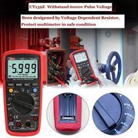 UNI T UT139E TRMS Digital Multimeter 6000 Count DMM AC DC Multimeter Analog Graphic Bar LPF LoZ PCI Temperature Capacitor Tester