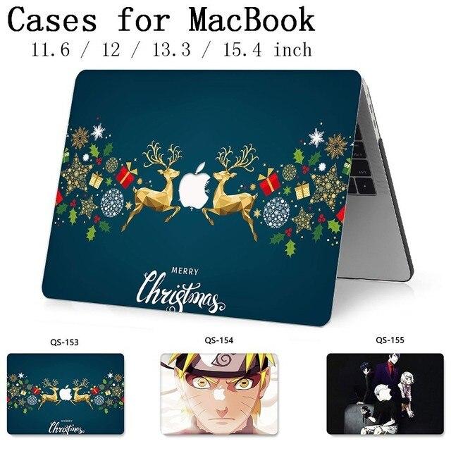 สำหรับแล็ปท็อปโน้ตบุ๊คสำหรับ MacBook 13.3 15.4 นิ้วสำหรับ MacBook Air Pro Retina 11 12 แขนป้องกันหน้าจอคีย์บอร์ด Cove