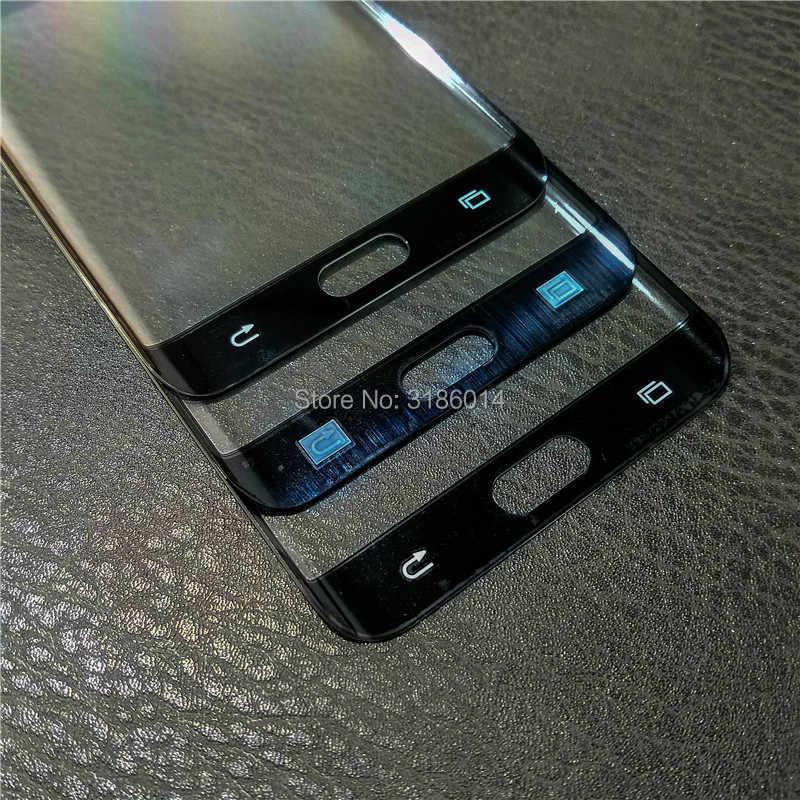 10 قطعة Ori جديد استبدال الزجاج الخارجي لسامسونج غالاكسي S6 حافة زائد G928F شاشة إل سي دي باللمس شاشة الخارجية الجبهة زجاج عدسة