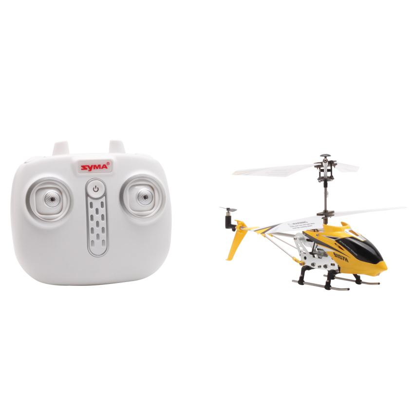 Image 2 - S107H Gyro Metal 2.4G Radio 3.5H Mini Helicopter RC Remote Control Altitude Hold RC Drone Toys Children Birthday Gift-in RC Helicopters from Toys & Hobbies