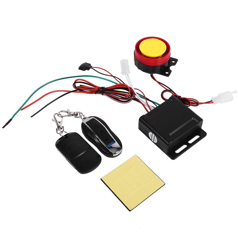 Image 2 - oversea Motorcycle Bike Smart alarm that automatically Anti theft