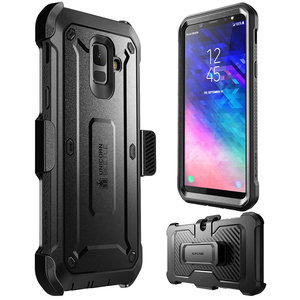 """Image 2 - SUPCASE For Samsung Galaxy A6 2018 Case 5.6"""" UB Pro Full Body Rugged Holster Case with Built in Screen Protector,NOT Fit A6 Plus"""