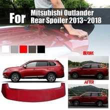 ABS Vernice Spoiler Posteriore Tronco Boot Lip Ala per Mitsubishi Outlander Posteriore Spoiler 2013 ~ 2018 Car Styling