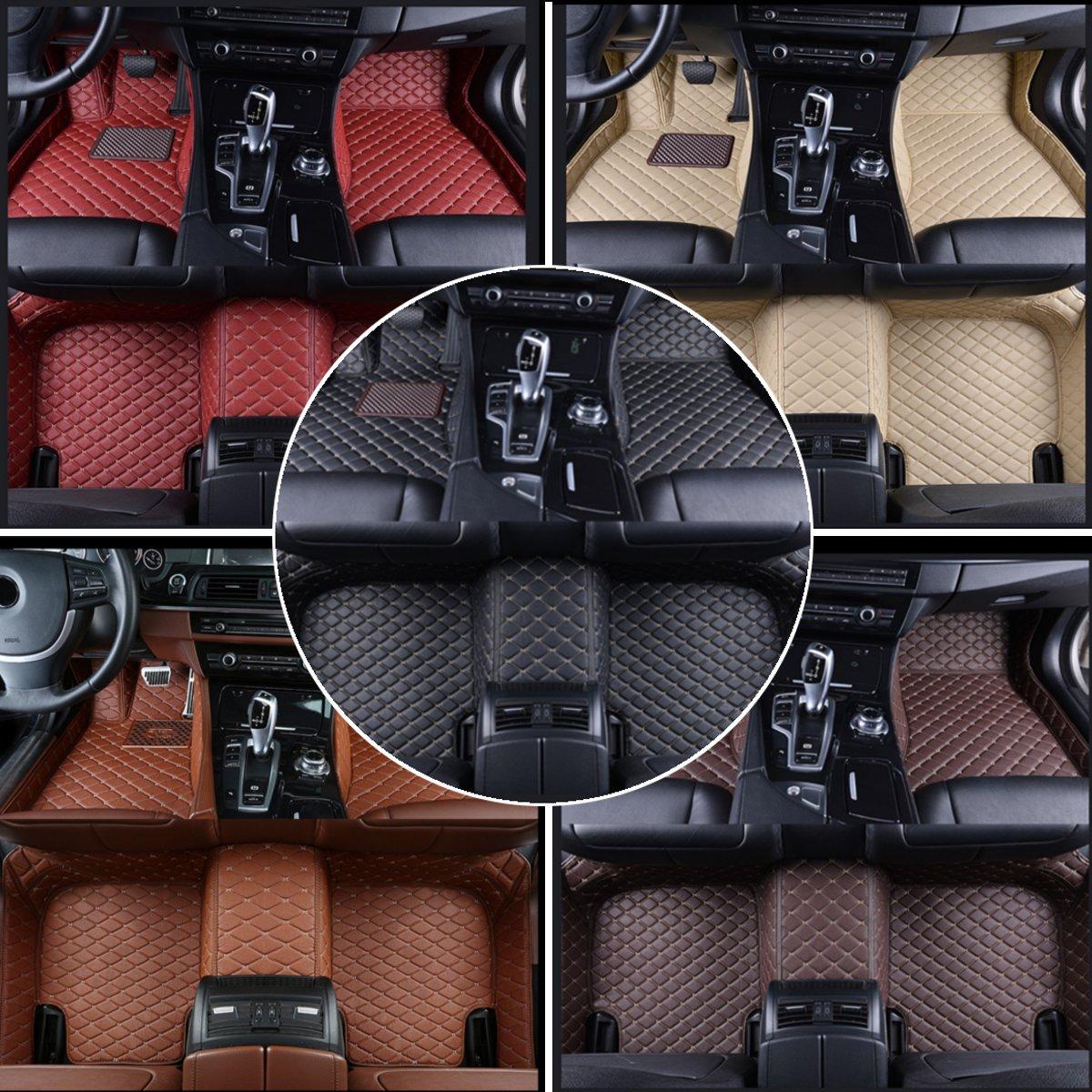 Tapis de Sol De voiture Flash tapis cuir pour BMW X3 E83 2003 2004 2005 2006 2007 2008 2009 2010x1 f48 e90 x5 e70 e53 x4 f11 x6 e71 f34