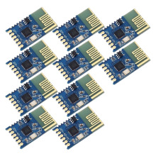 цена на 10X JDY-40 2.4G Wireless Serial Port Transmission Board Transceiver Module Super NRF24L01 Lot