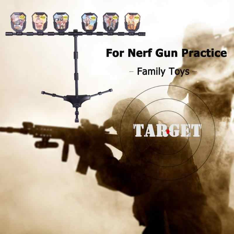 Classic Practice Shooting Target Outdoors Gun Game Kids Toys Accessories Air Airsoft Air Guns Metal Target Set For Practice