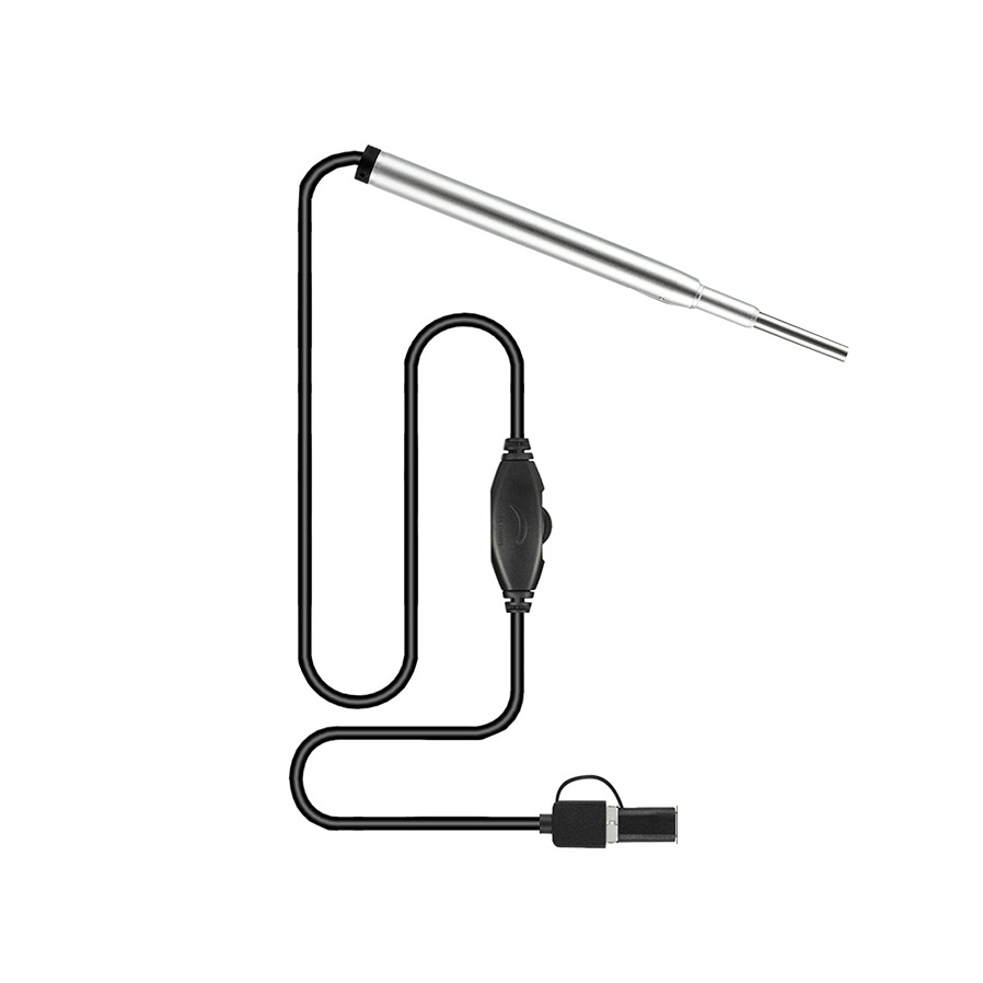 Wattestäbchen In-ohr Mini Medizinische Endoskop Kamera 3,9mm 3 In 1 Usb Stecker Endoskop Inspektion Kamera Ohr Nase Endoskop