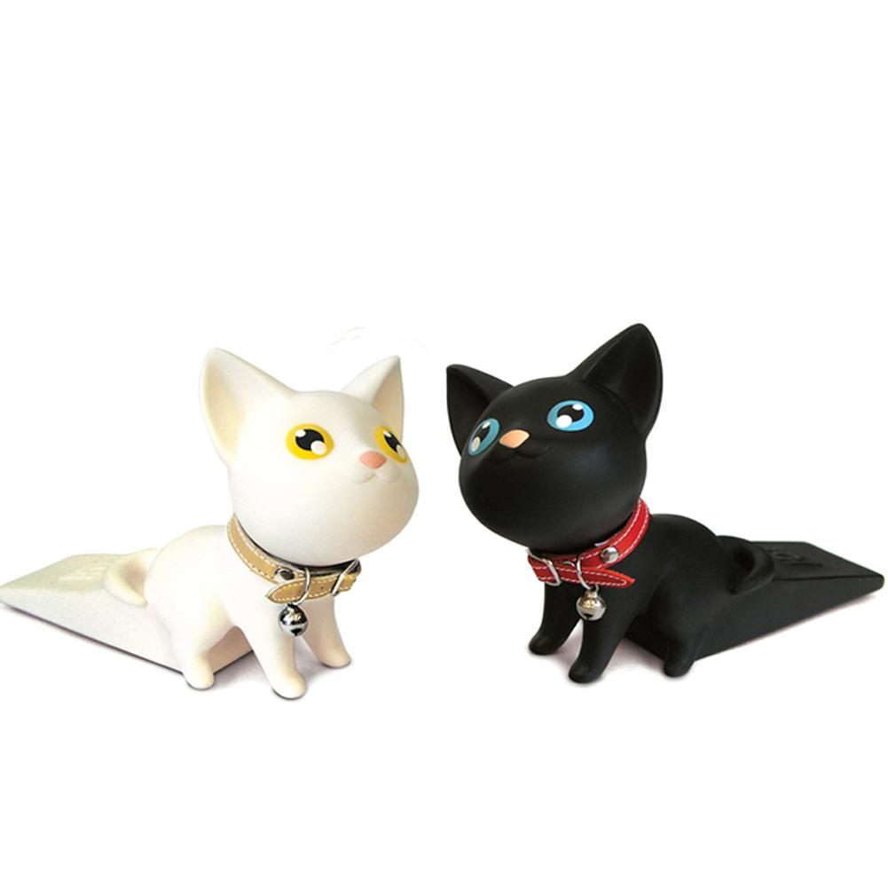 Lovely PVC Cat Door Stopper Door Wedge Children Door Protector Prevent ClampLovely PVC Cat Door Stopper Door Wedge Children Door Protector Prevent Clamp
