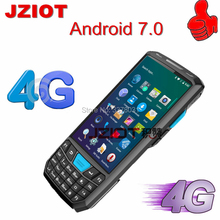 JZIOT Large screen 1d bluetooth android pda Industrial Rugged Handheld Data Collector