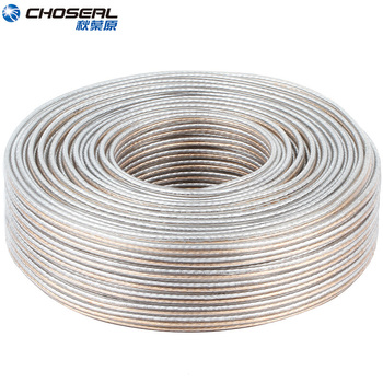 CHOSEAL DIY HIFI Loud Speaker Audio Cable Wire Oxygen Free Cooper Speaker Wire DIY 50/100/150/200 Core For home Theater finlemho neodymium speakers for line array speaker home theater professional audio de400 44mm voice coil stage studio audio