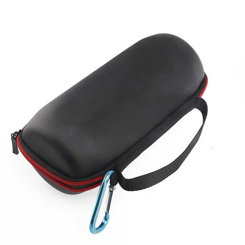 Portable Black Pu Travel Carry Cover Pouch Bag Case For Jbl Charge 2/2+ Wireless Bluetooth Speaker Storage Box(No Column)