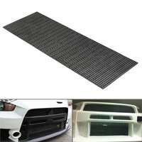 120cm Black Honeycomb ABS Plastic Vent Car Tuning Racing Grill Mesh For Benz for Audi Car Styling