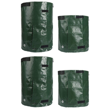 2PCS 10 Gallon and 2PCS 7 Gallon Potato Grow Bags, Planter Bags with Access Flap and Handles for Planting Vegetables,Onions,Ra