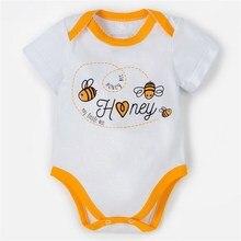 Боди «Крошка Я: Love & honey», цвет белый, р. 26, рост 74‒80 см