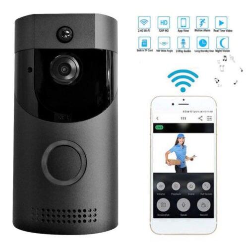 1080P Smart WIFI Security Doorbell Wireless Video Door Phone Camera Night Vision