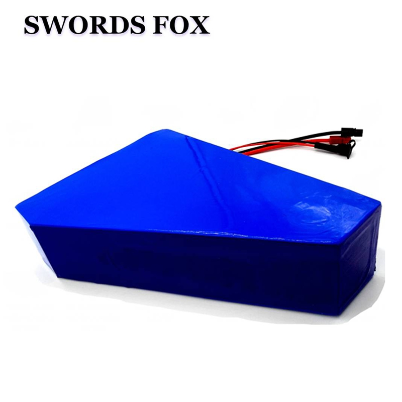Triangle Battery 36V 48V 52V 20Ah 28Ah 31Ah Ebike Battery with LG or Samsung cell Work for 500W 750W 1000W Motor image