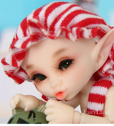 Fairyland Realpuki Kaka 1/13 BJD Dolls Resin SD Toys for Children Friends Surprise Gift for Boys Girls Birthday