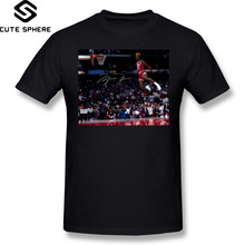 e8705a34f42d5f Slam Dunk T Shirt Michael Jordan Slam Dunk T-Shirt Plus size Print Tee Shirt