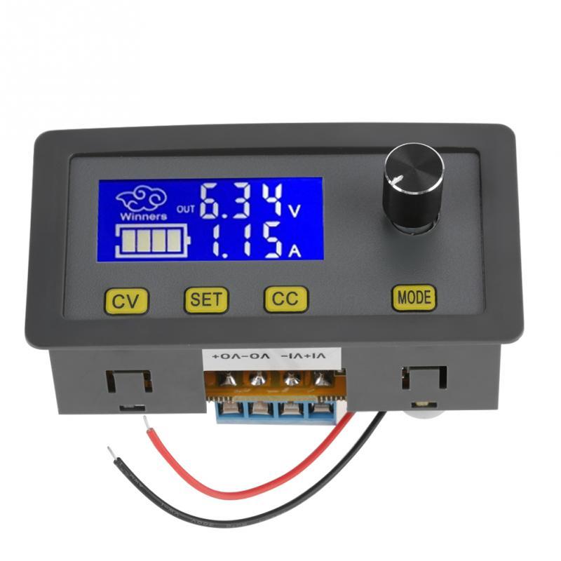 1 PC Digital Power supply Regulator 6V-32V to 0-32V Adjustable 5A Step-Down Power Supply Module with fan Module de puissance 10pcs lot lm338k lm338 voltage regulator 5a 1 2v to 32v