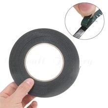10 м двухсторонняя клейкая лента прочная черная пенопластовая лента 6 мм-50 мм для ремонта сотового телефона прокладка экрана PCB защита от пыли
