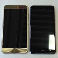 Tela lcd + digitalizador touchscreen  display de montagem para asus zenfone 3  ze552kl z012d z012dc z012da armação de moldura