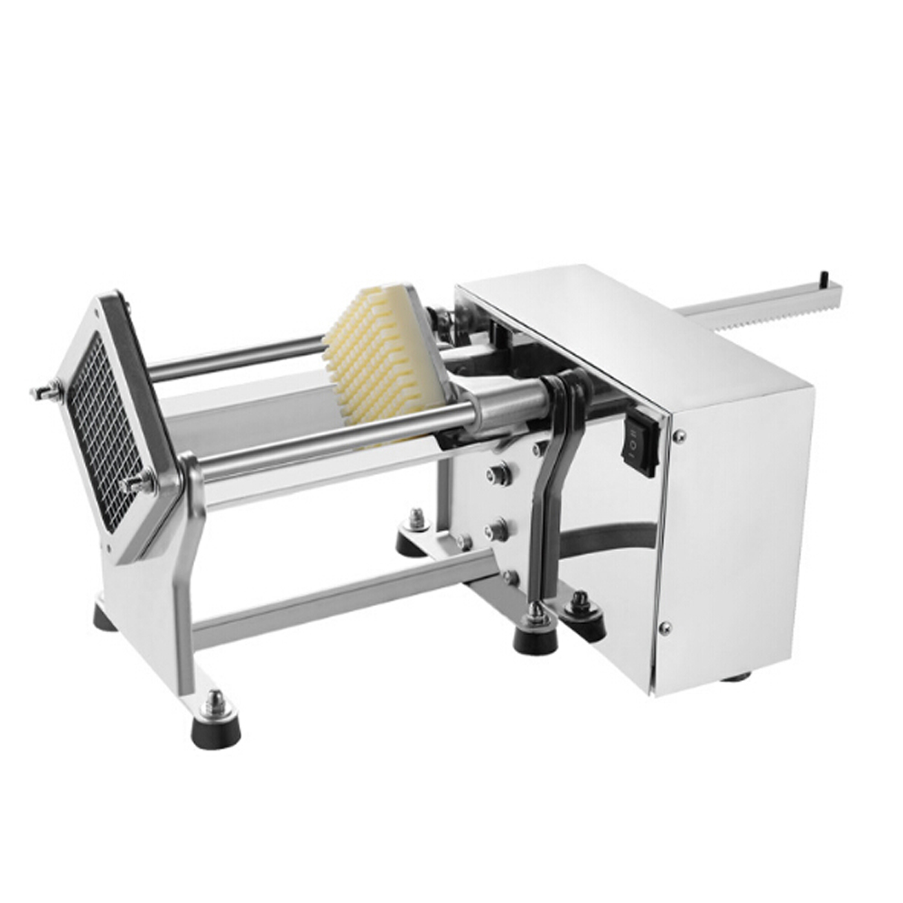 Itop Commercial Electric Cutting Fries Machine Stainless Steel Kitchen Potato Cutting Machine Potato Slicer With 3 Blades