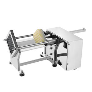ITOP Potato-Slicer with 3-Blades Fries-Machine Commercial Electric-Cutting Stainless-Steel