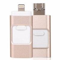 OTG USB Flash Drive For Apple iPhone iPad iPod Mobile USB Flash Disk Business USB Stick Flash Pen Drive(64GB)