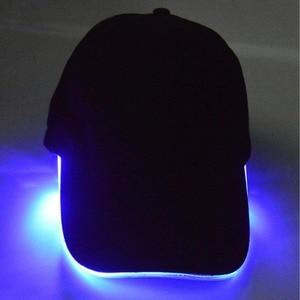 Image 4 - Adjustable Bicycle 5 LED Headlamp Cap Battery Powered Hat With LED Head Light Flashlight For Fishing Jogging Baseball Cap