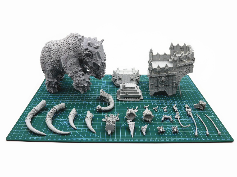 Image 3 - Chaos War Mammoth-in Model Building Kits from Toys & Hobbies