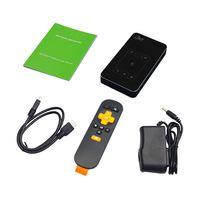 Tüketici Elektroniği'ten Projektör Aksesuarları'de DLP projektör T18 WiFi Android 7.1 Bluetooth Pico cep HDMI desteği 4K 1080P Mini 32G Mini projektör