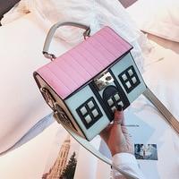 2019 Shoulder Crossbody Bags For Women Leather House Personality Handbags Women Bags Designer Ladies Messenger Bags Sac A Main