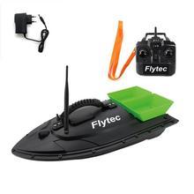 Flytec Bait Boat Fishing Equipment Tool 500 Meters Intelligent Smart RC Bait Boat Toy Dual Motor Fish Finder Bateau Amorceur