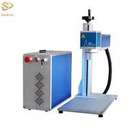 Feito em Guangzhou 20 w fibra de marcação a laser máquina a laser máquina de gravura do laser de plástico Hardware
