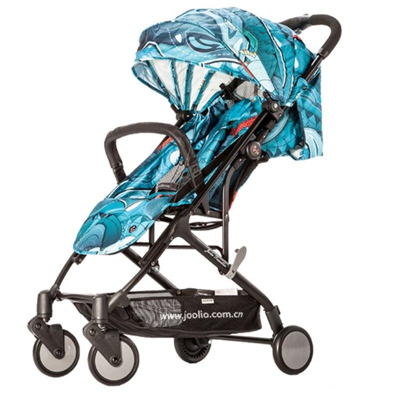 0-36 mois haut paysage bébé poussette nuit réflexion avertissement quatre roues poussette Portable pliant bébé chariot Arabasi