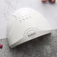 SUNUV Sunone 48W Professional Nail Lampe LED Manicure UV Lamp Nail Dryer for UV Gel LED Gel Nail Machine Infrared Sensor