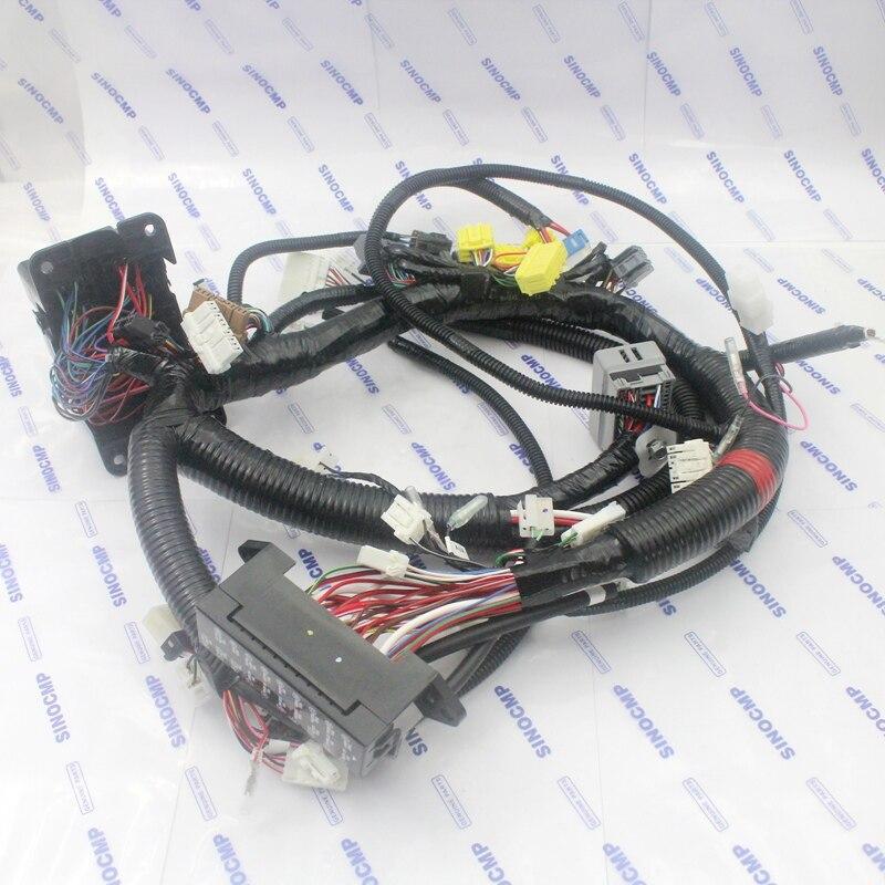 ZX120 3 ZX 3 Cablagem Interna 0006003 0006463 Para Hitachi Escavadeira CAB Cabo de Fio-in Compressor e embreagem AC from Automóveis e motos on CMP Technology