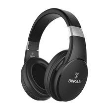 BINGLE FB110 Bluetooth 4.1 kulaklık kss kablosuz Stereo müzik kulaklık baş üstü kulaklık seti 3.5mm AUX eller serbest w/mikrofon