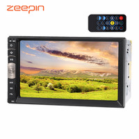 Zeepin C500 Universal 7.0 Inch Car Video Player 2 DIN Bluetooth EQ Function Button FM Radio Audio Player With Remote Controller