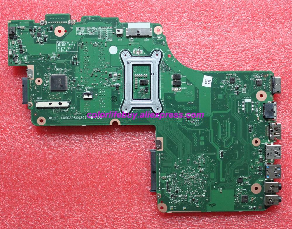 Image 2 - Genuine V000325050 DB10F 6050A2566201 MB A02 DDR3 Laptop Motherboard Mainboard for Toshiba C50 C55 C55T Series Notebook PC-in Laptop Motherboard from Computer & Office
