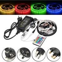 5M Smuxi 300 LED RGB Strip Light 5050 DC12V 60Leds/M Flexible Light Led Ribbon Tape Home Decoration Lamp Non waterproof