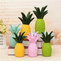 Cute Jelly Candy Color Pineapple Savings Pot Piggy Bank Coins Box Money Coin Saving Bank For Children Toys Gift Home Decoration