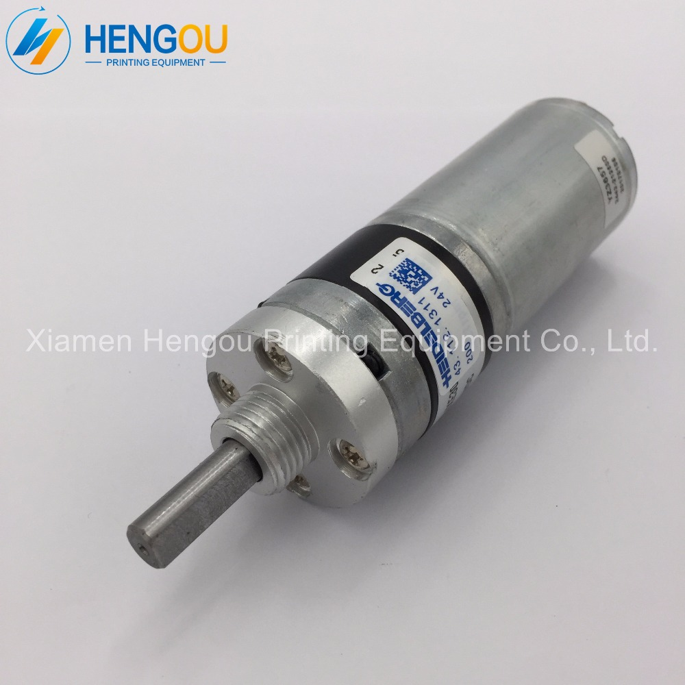 цена на 2 pieces high quality Heidelberg GTO52 GTO46 prinitng machine suction drum motor 43.112.1311 heidelberg replacement part