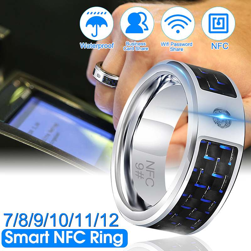 Kinco 7/8/9/10/11/12 Fashion Elegant Jewelry Rings Wear Magic NFC Smart Ring For Ios Android Windows Mobile Phone